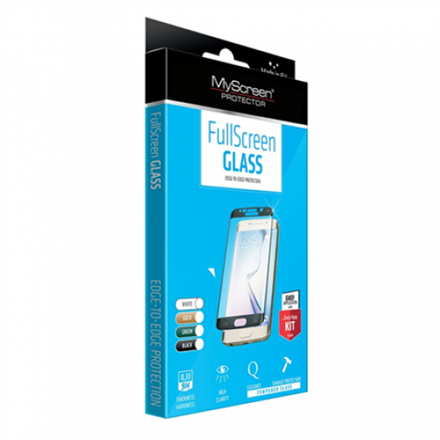MyScreen Diamond glass ( full screen ) for iPhone 7/8 3D Black