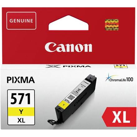 Print4you Analog Canon CLI-571YXL Ink Cartridge, Yellow