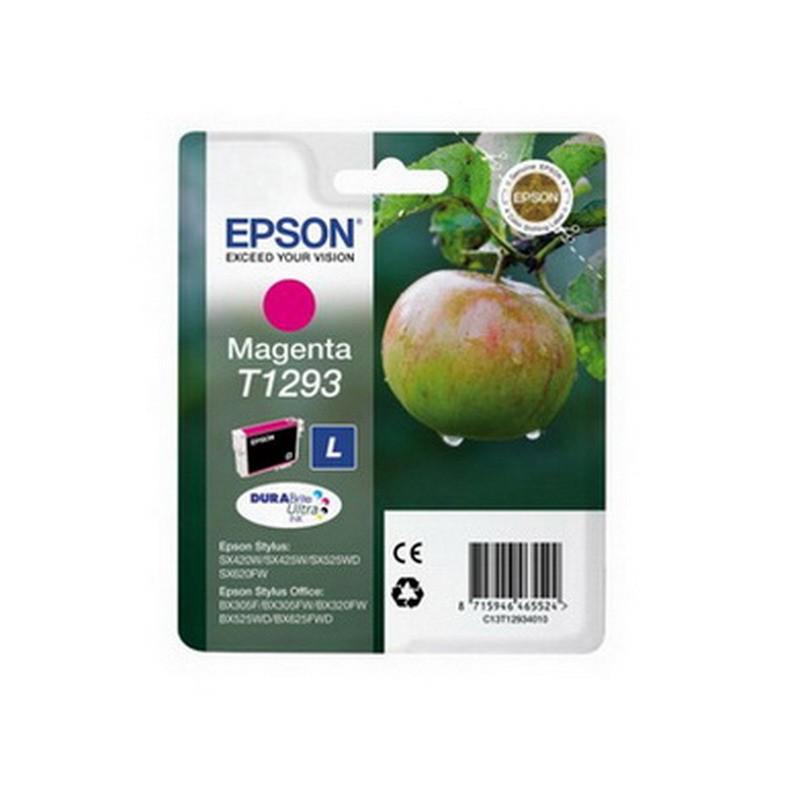 Tindikassett Epson T1293, 7ml, magenta
