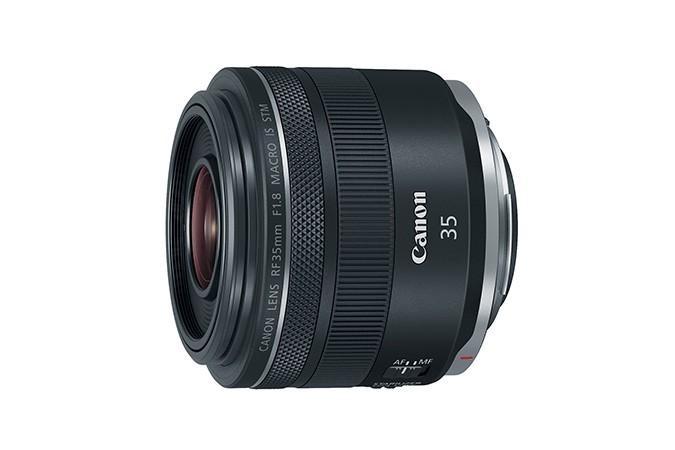 Canon RF 35mm F1.8 Macro IS STM MILC (Peeglita vahetatavate objektiividega kaamera) Makroobjektiiv Must