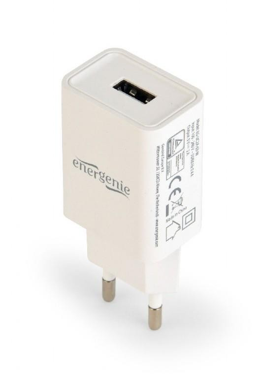 CHARGER USB UNIVERSAL WHITE/EG-UC2A-03-W GEMBIRD