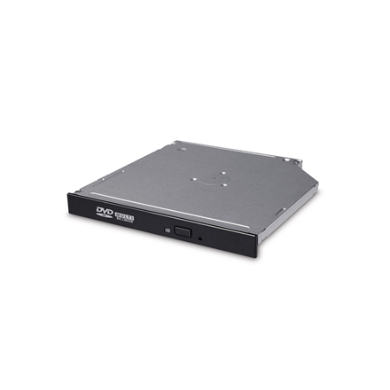 H.L Data Storage 12.7mm Slim DVD-Writer GTC0N Internal, Interface SATA, DVD±RW, CD read speed 24 x, CD write speed 24 x, Black
