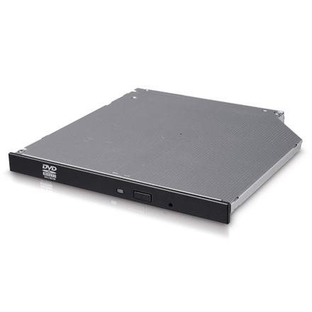 H.L Data Storage 9.5mm Slim DVD-Writer GUD0N Internal, Interface SATA, DVD±RW, CD read speed 24 x, CD write speed 24 x, Black