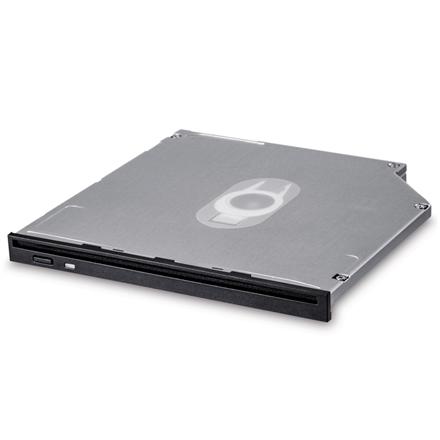 H.L Data Storage 9.5mm Slot loading Slim Internal DVD-W GS40N Internal, Interface SATA, DVD±RW, CD read speed 24 x, CD write speed 24 x, Black