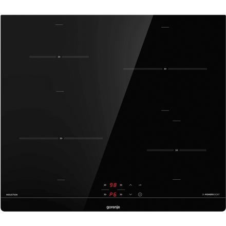 Gorenje Hob IT640BSC Induction, Number of burners/cooking zones 4, Black, Display, Timer