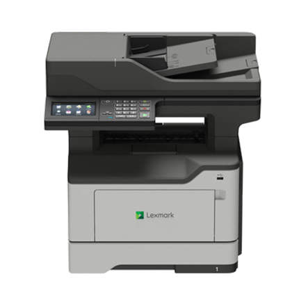 Lexmark MX521ade Mono, Monochrome Laser,  Multifunctional Printer, A4, Grey/ black
