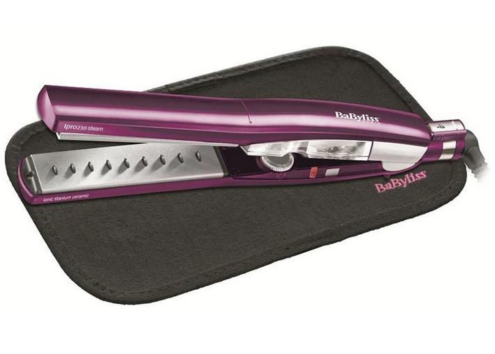 BABYLISS Hair straightener ST292E Ceramic heating system, Ionic function, Display No, Temperature (min) 170 °C, Temperature (max) 230 °C, Purple