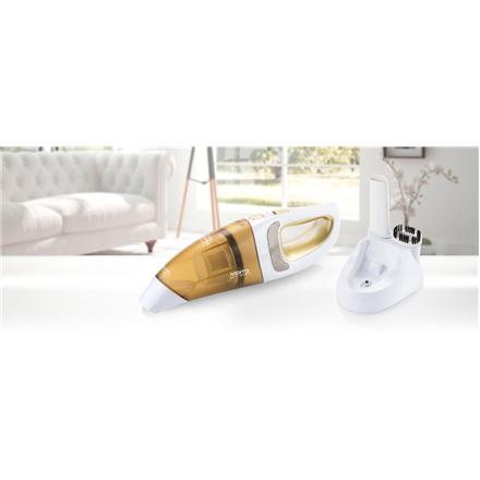 ETA Vacuum cleaner  VERTO II Handheld, Dry cleaning, 9.6 V, 6 W, Operating time (max) 15 min, White/ orange