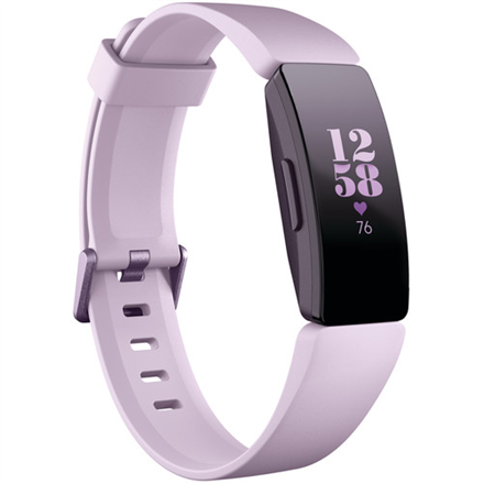 Fitbit Inspire HR Fitness tracker, OLED, Touchscreen, Heart rate monitor, Activity monitoring 24/7, Waterproof, Bluetooth, Lilac