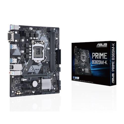 Mainboard ASUS Intel B365 Express LGA1151 MicroATX 2xPCI-Express 3.0 1x 1xPCI-Express 3.0 16x 1xM.2 Memory DDR4 Memory slots 2 1x15pin D-sub 1xDVI 1xAudio-In 1xAudio-Out 1xMicrophone 2xUSB 2.0 4xUSB 3.1 2xPS/2 1xRJ45 PRIMEB365M-K