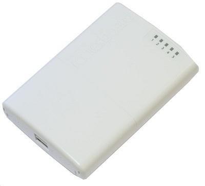 NET ROUTER 10/100M 5PORT/OUTDOOR RB750P-PBR2 MIKROTIK