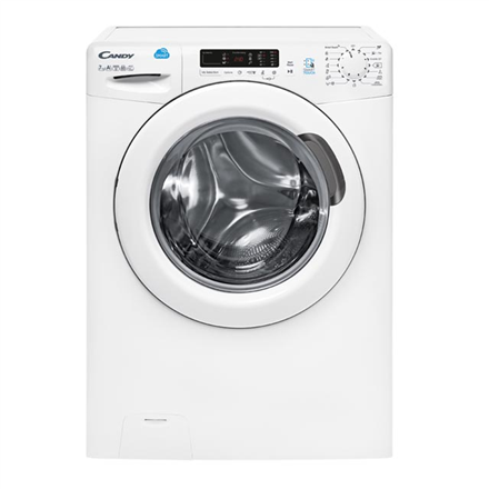 Candy Washing machine CS 1072D3/1 Front loading, Washing capacity 7 kg, 1000 RPM, A+++, Depth 52 cm, Width 60 cm, White, NFC, Display,