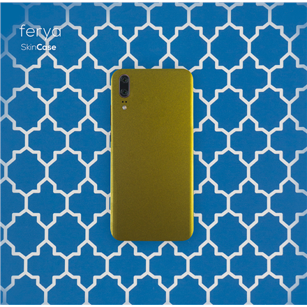 3MK Ferya SkinCase Back cover, Huawei, P20, Protective foil, Camelion Gold
