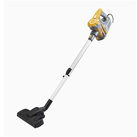 Adler Vacuum Cleaner AD 7036 Corded operating, Handstick and Handheld, 800 W, Operating radius 7 m,  Yellow/Grey, Warranty 24 month(s)