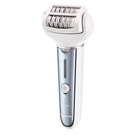 Panasonic Epilator ES-EL2A-A503 Operating time (max) 30 min, Number of power levels 3, Wet & Dry, Grey/White