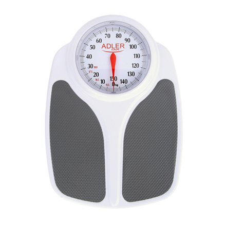 Adler Bathroom scales AD 8153 Maximum weight (capacity) 180 kg, Accuracy 1000 g, Multiple user(s), White,