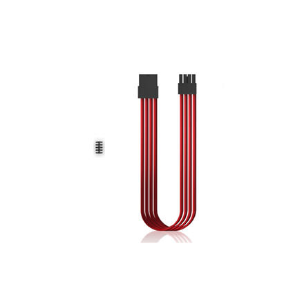 Deepcool PSU Extension Cable DP-EC300-PCI-E-RD Red, 345 x 26 x 17 mm