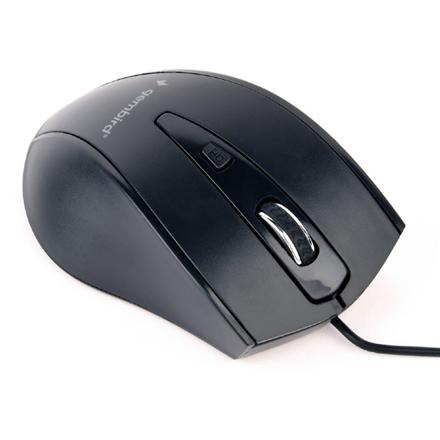 Gembird Mouse  MUS-4B-02 USB, No, Standard, No, Black