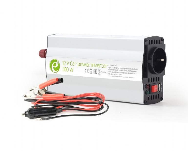 POWER INVERTER CAR 12V 300W/EG-PWC-042 GEMBIRD