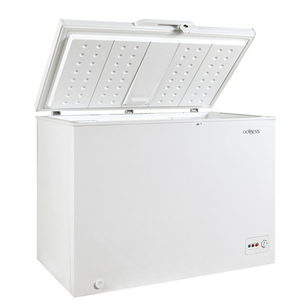 Goddess Freezer GODFTE0200WW9 Chest, Height 85 cm, Total net capacity 200 L, A++, Freezer number of shelves/baskets 1, White, Free standing