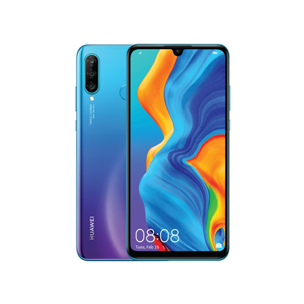 "Huawei P30 Lite 6.15 "", microSD, LTPS IPS LCD, Blue, HiSilicon Kirin, Android, Dual SIM, Nano-SIM, 9.0, 710, 1080 x 2312 pixels, 3340 mAh, Internal RAM 4 GB, 128 GB, Main camera Triple 48+8+2 MP, Secondary camera 24 MP, 3G, 4G"