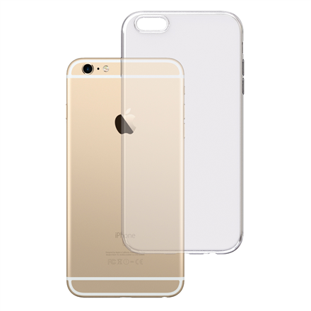 3MK Clear Case Back cover, Apple, iPhone 6 Plus/6s Plus, TPU, Transparent