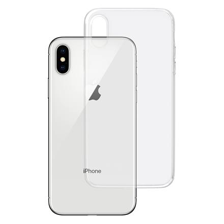 3MK Clear Case Back cover, Apple, iPhone X, TPU, Transparent