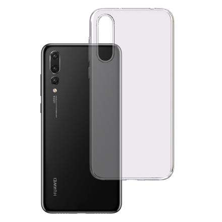 3MK Clear Case Back cover, Huawei, P20 Pro, TPU, Transparent