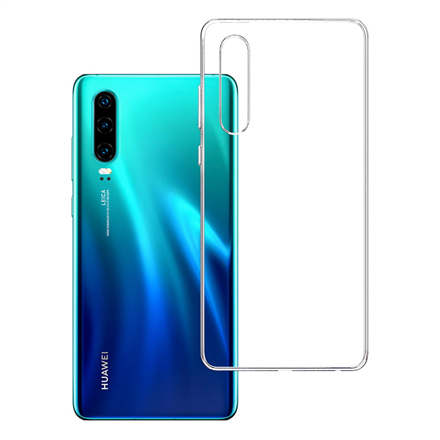 3MK Clear Case Back cover, Huawei, P30, TPU, Transparent