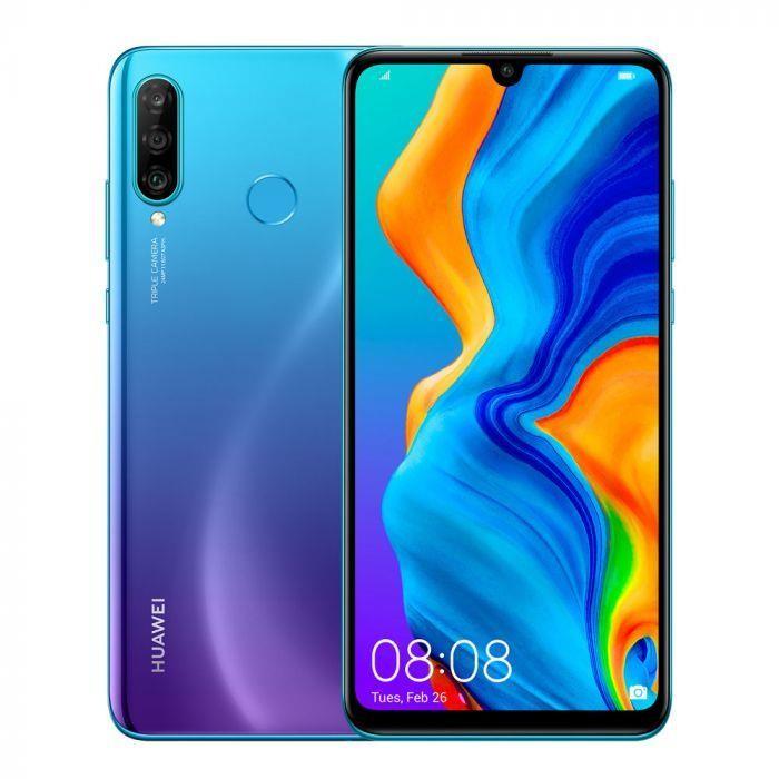 "Huawei P30 Lite 15,6 cm (6.15"") 4 GB 128 GB 4G USB tüüp-C Sinine Android 9.0 3340 mAh"