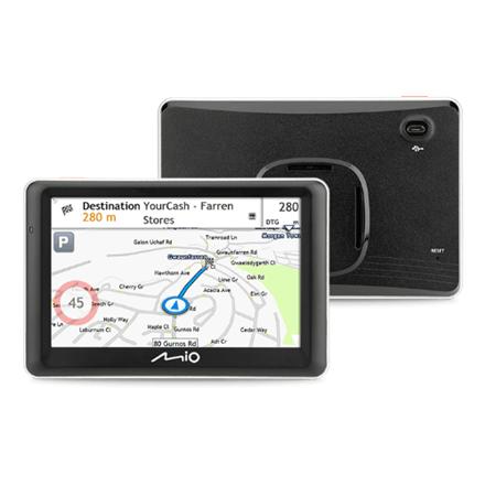 "Mio Truck navigation Spirit 7700 5"" touchscreen, 5"" touchscreen, GPS (satellite), Maps included"