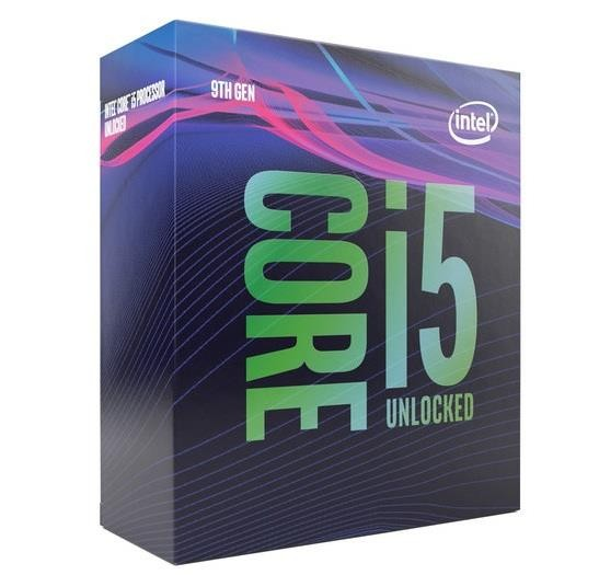 CPU|INTEL|Core i5|i5-9600|Coffee Lake|3100 MHz|Cores 6|9MB|Socket LGA1151|65 Watts|GPU UHD 630|BOX|BX80684I59600SRF4H