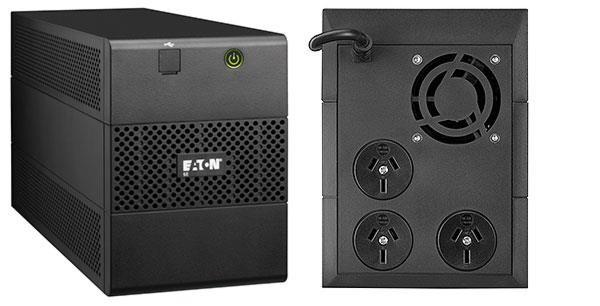 Eaton 5E2000IUSB puhvertoiteallikas (UPS) Liini-interaktiivne 2000 VA 1200 W 6 vahelduvvoolu kontakt