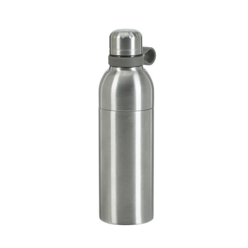 VACUUM FLASK 0.5L SILVER/90411SL RIVACASE