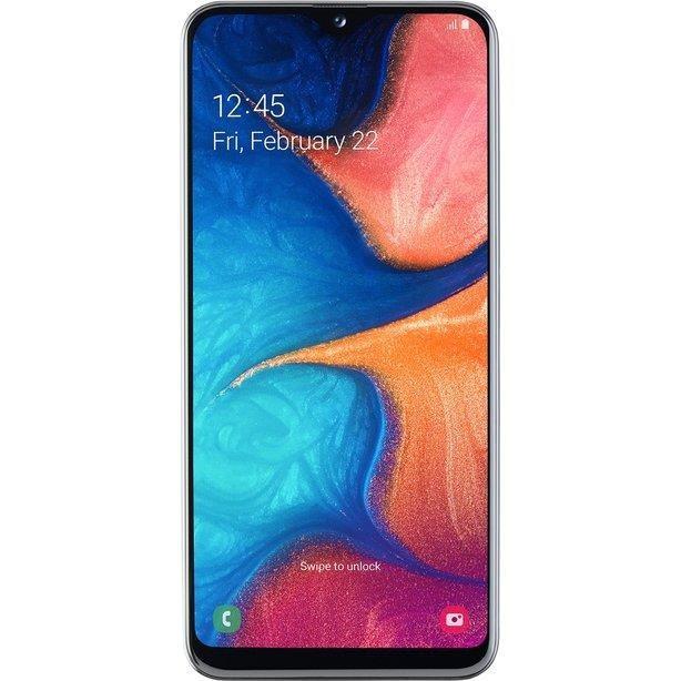"Samsung Galaxy A20e SM-A202F 14,7 cm (5.8"") 3 GB 32 GB Kaksik-SIM 4G USB tüüp-C Valge 3000 mAh"