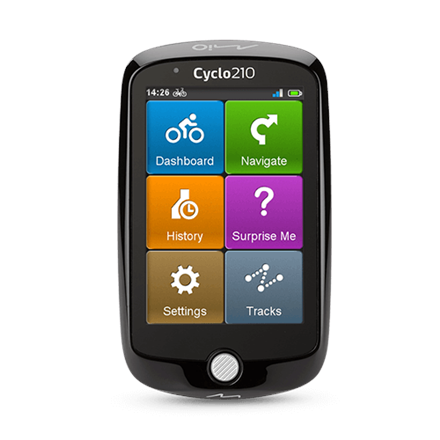 "Mio Cyclo 210 8.9cm (3.5""), Color Display, 320 x 480, GPS (satellite), Maps included"