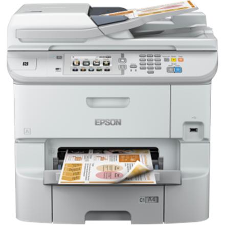 Epson WorkForce Pro WF-6590DWF Colour, Inkjet, Multifunction Printer, A4, Wi-Fi, Grey