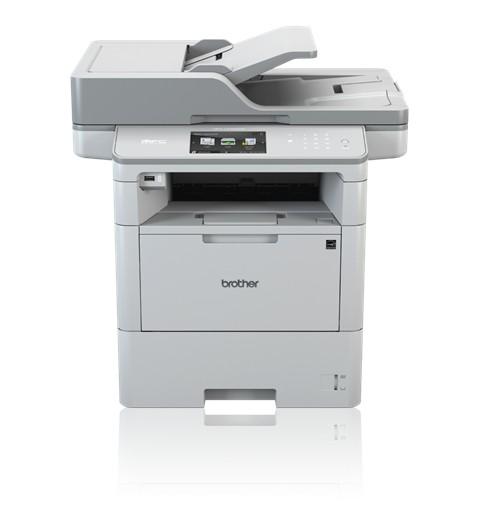 Brother MFC-L6900DW Mono, Laser, Multifunction Printer, A4, Wi-Fi, White