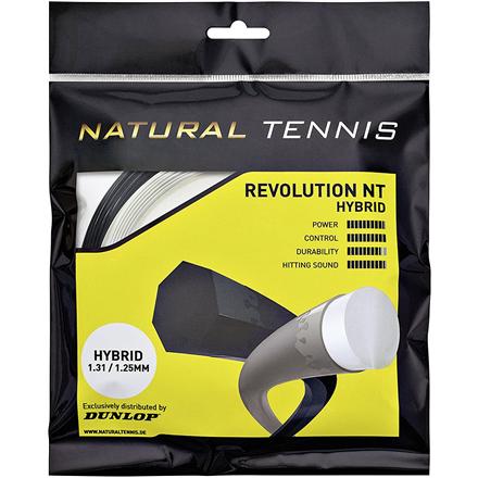 Heptagona, premium Co-Polyester strings DUNLOP NT Revolution set 11 m 1.35/1.30mm, black/yellow