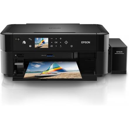 Epson L L850 Colour, Inkjet, Multifunction Printer, A4, Black