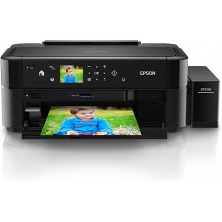 Epson L810 Colour, Inkjet, Standard, A4, Black