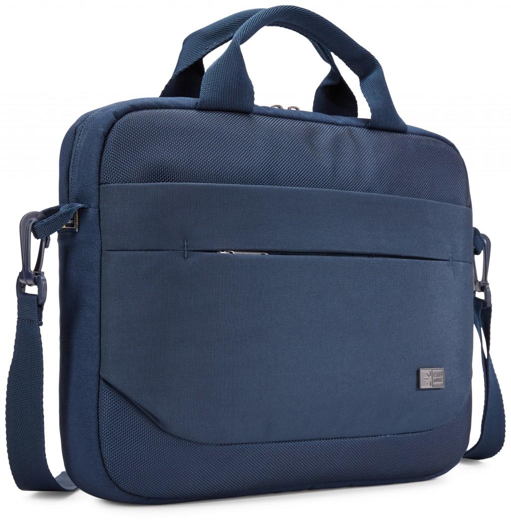 """Case Logic Advantage Fits up to size 11.6 """", Dark Blue, Shoulder strap, Messenger - Briefcase"""