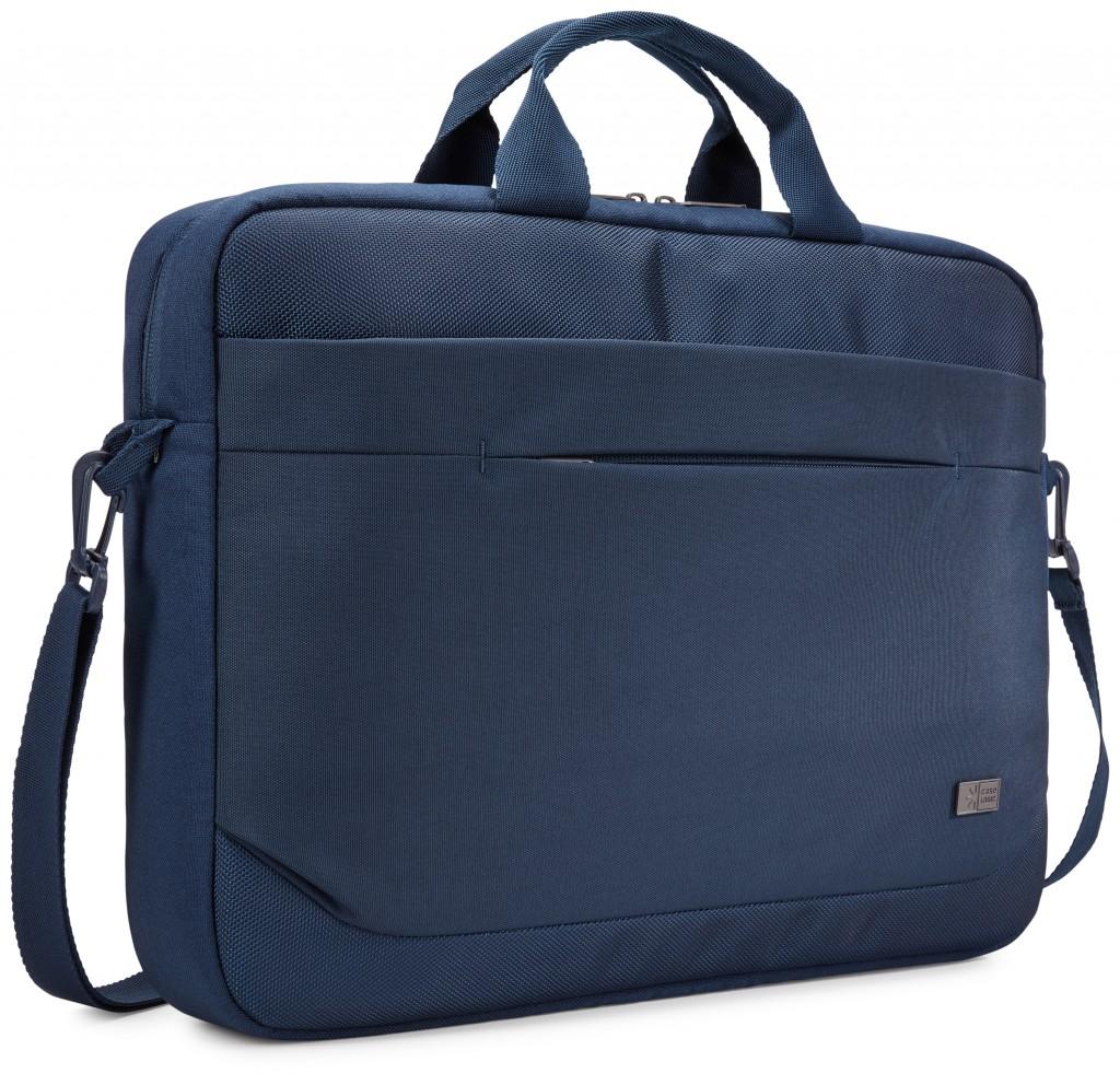 """Case Logic Advantage Fits up to size 15.6 """", Dark Blue, Shoulder strap, Messenger - Briefcase"""