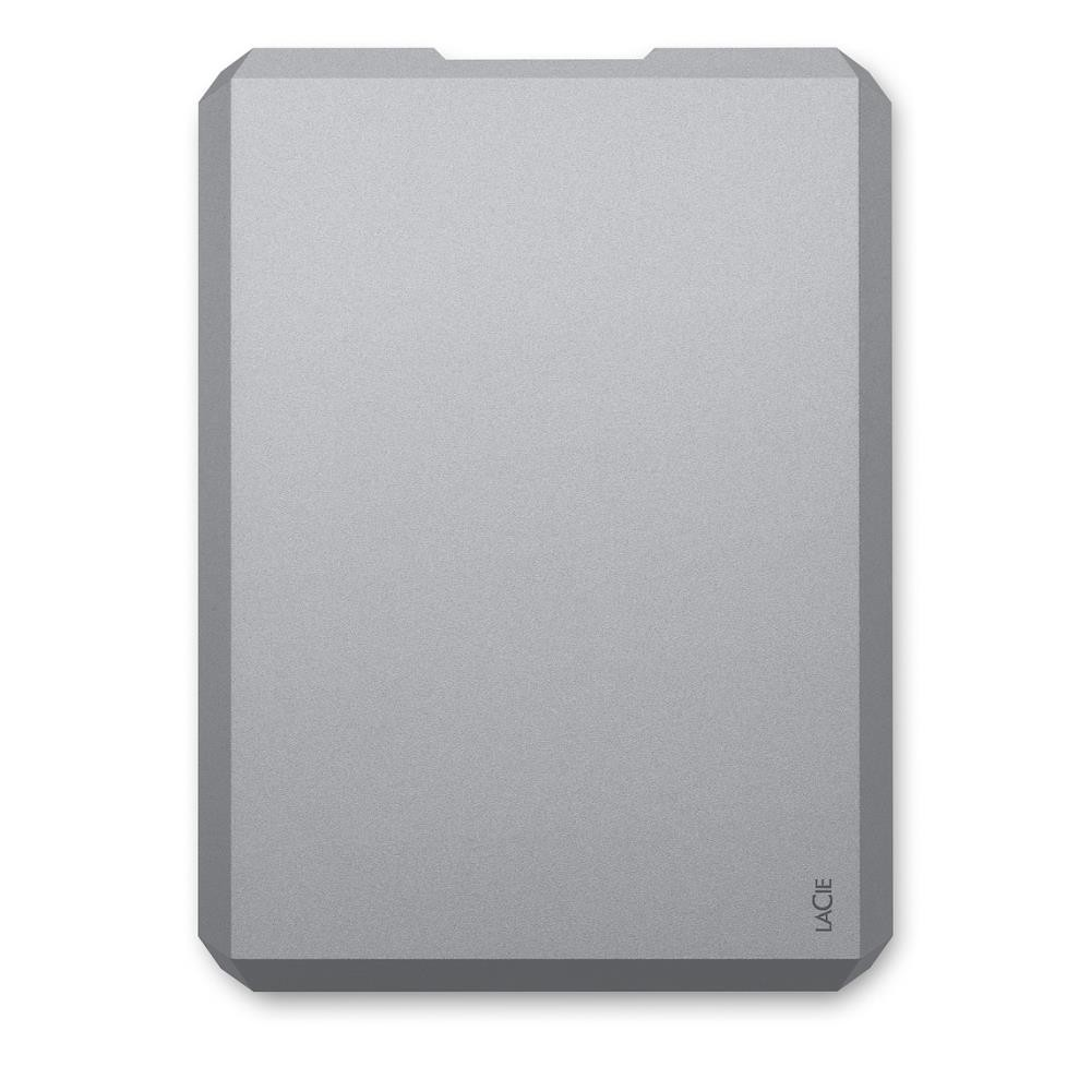 External HDD|LACIE|2TB|USB-C|Colour Space Gray|STHG2000402
