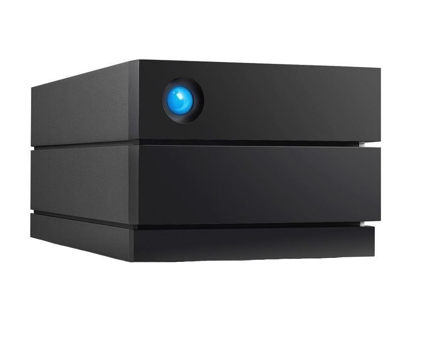 External HDD|LACIE|2big RAID|8TB|USB 3.1|Black|STHJ8000800