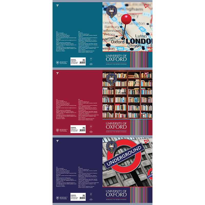 Kaustik klamberköites TOP Company A4, 96 lehte, ruuduline