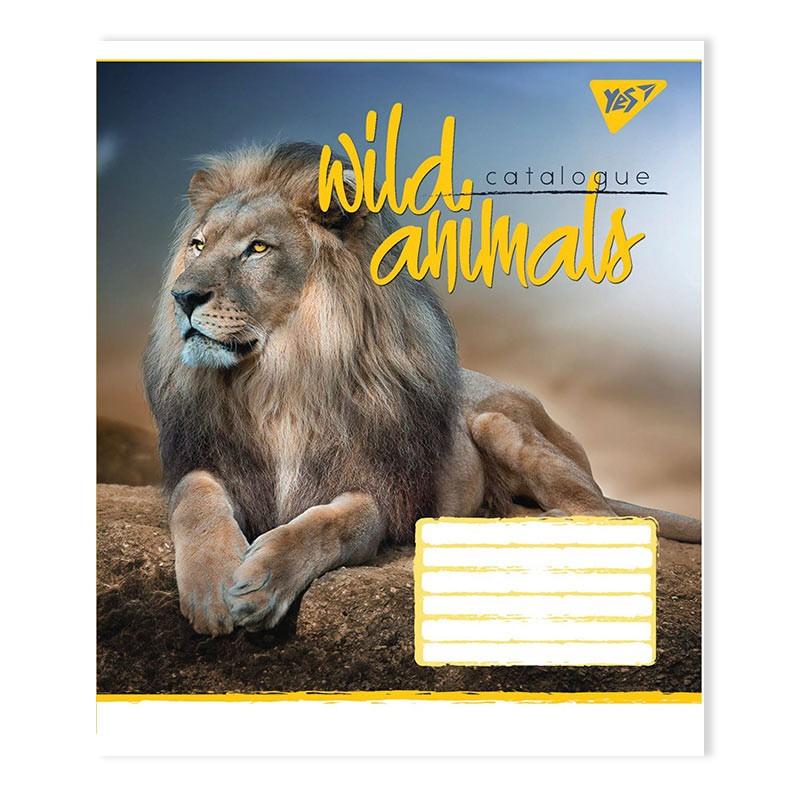 Kaustik YES Wild-L, A5+, 24 lehte, ruuduline