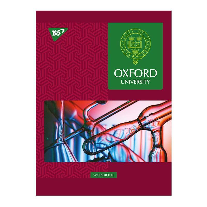 Spiraalköitega kaustik YES Oxford-L A5, 70 lehte, ruuduline