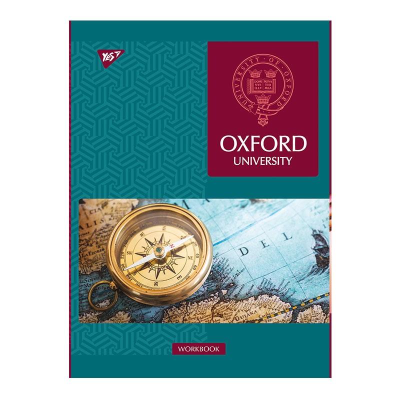 Spiraalköitega kaustik YES Oxford-L A4, 70 lehte, ruuduline