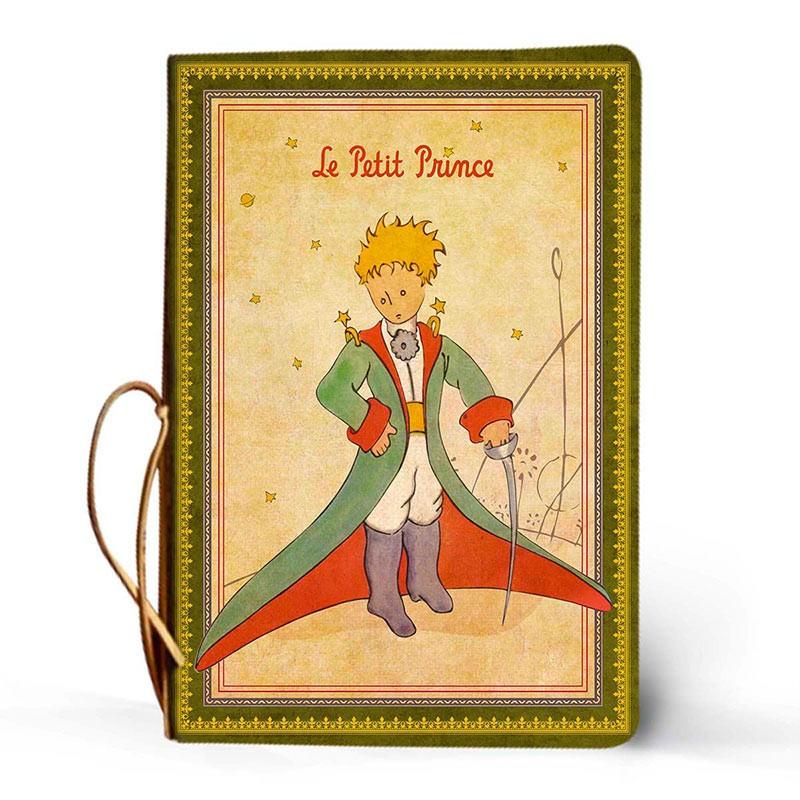Kaustik LE PETIT PRINCE Classique, 140x205 mm, pehmed kaaned, roheline